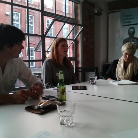 Clay, Lucy and Merici at the Ada's List-Undercurrent discussion on responsive organisations